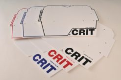 Crit Global Number Plate