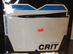 Crit Global Brush Stroke Number Plate