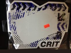 Crit Global Chevron Number Plate