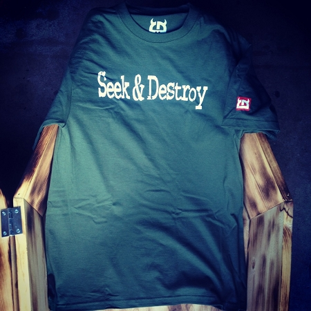 Little Devil Seek & Destroy Tee