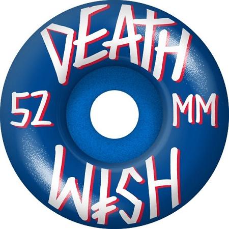 Deathwish Blue 52mm Wheels