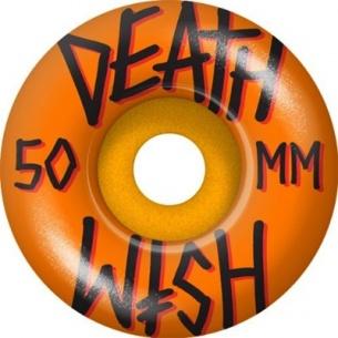 Deathwish Orange 50mm Wheels