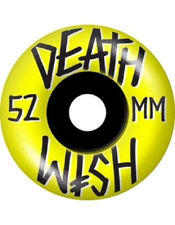 Deathwish Yellow 52mm Wheels