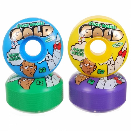 GOLD Marcus McBride Sticky Doobie Wheels