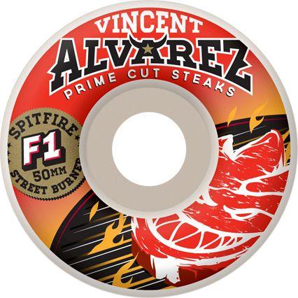 Spitfire Alvarez F1 Street Burners Wheels