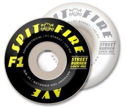 Spitfire F1 Anthony Van Engelen Lock-Ins Wheels