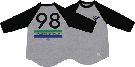 Diamond Supply Co Raglan