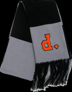 Diamond Un-Polo Scarf - Black / Grey