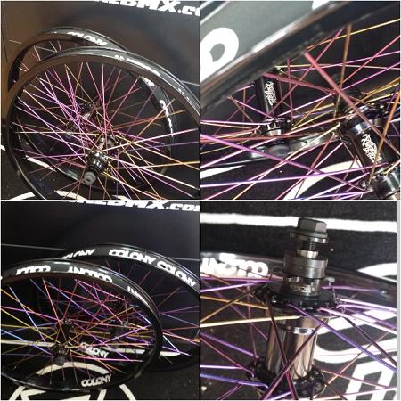 Total BMX / Colony Custom Wheelset