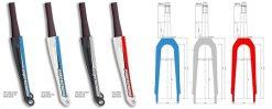 Supercross SLT BLK Carbon Fork
