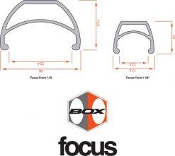 BOX Focus Pro Front Rim