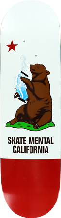 Skate Mental California Bear Deck