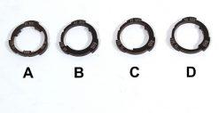 Profile Z Coaster Slack-Cam Rings