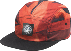 Diamond Supply Co - Simplicity 5 Panel Camp Hat - Red
