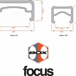 BOX Focus Pro Rear Rim
