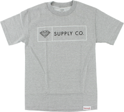 Diamond Supply Co. Boxed In Tee - Grey