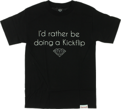 Diamond Supply Co - Kickflip Tee - Black