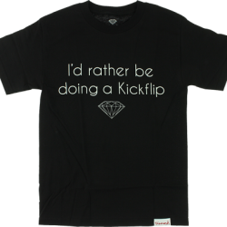 Diamond Supply Co - Kickflip Tee - Black