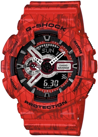 Casio G-Shock GA-110-SL-4A - Time 2 Shine BMX f67a82926f72