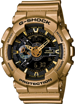Casio G-Shock GA110GD-9B Watch