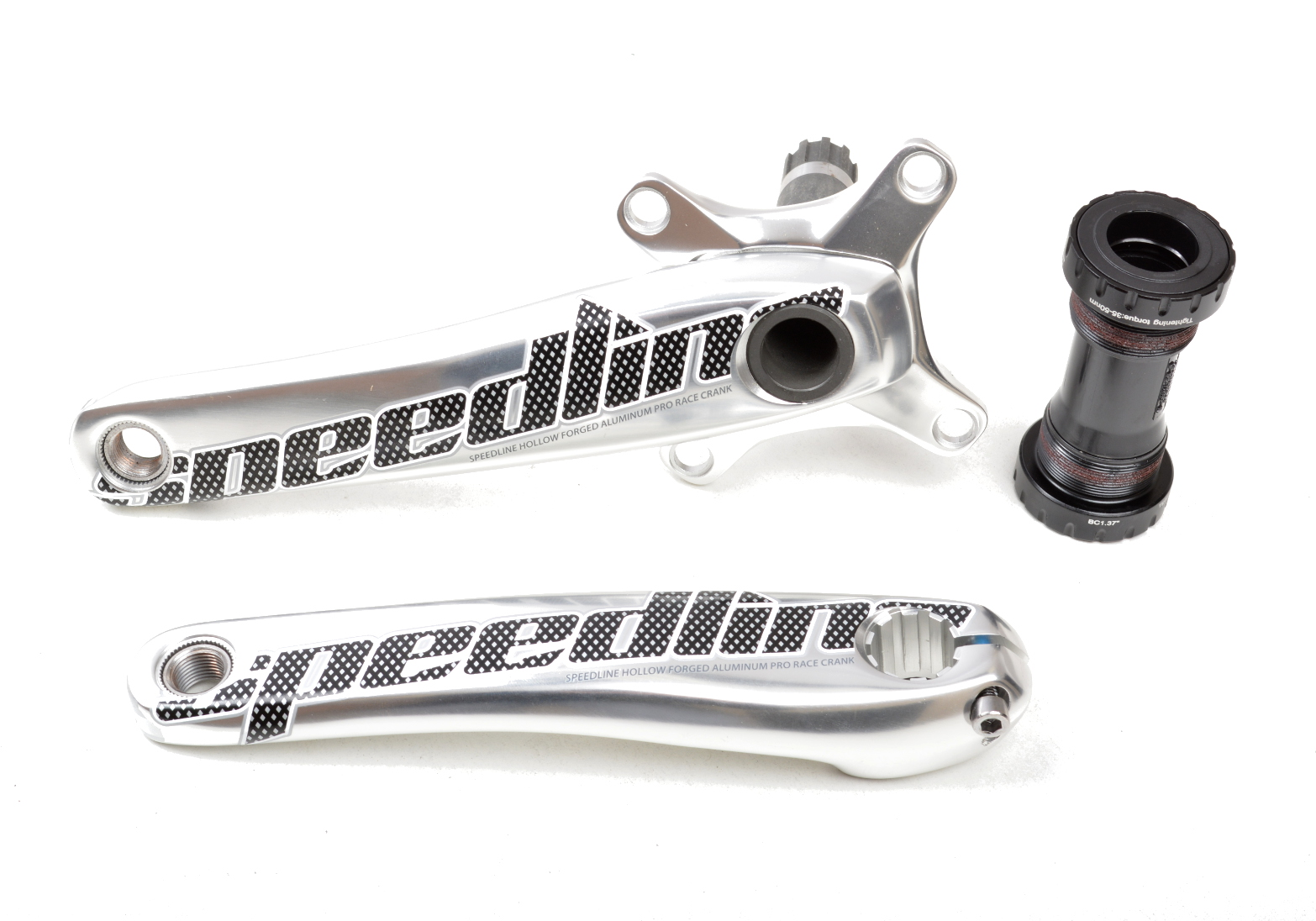 Speedline 2 Piece Hollow Forged Crank Set
