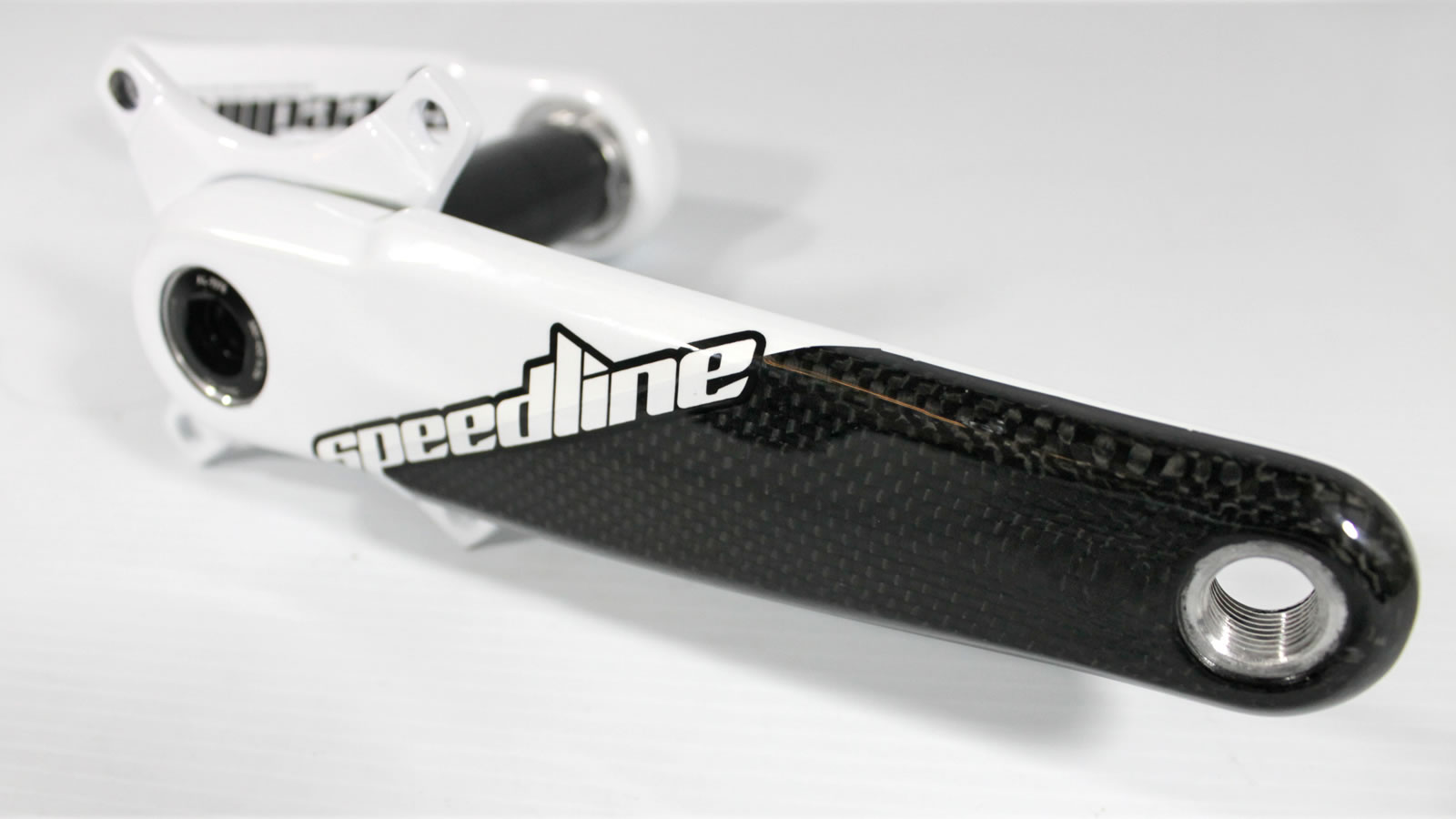 Speedline Elite - 2 Piece Hollow Carbon Cranks