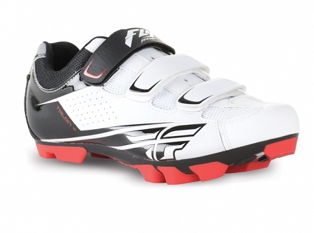 Fly Racing Talon II Clip Shoe - White (2017 Model)