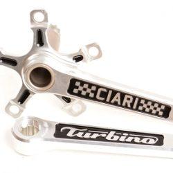 Ciari Turbino Crank Set - Silver