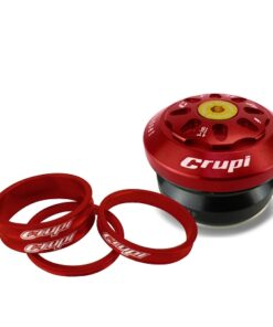 Crupi Factory Integrated Headset - Red