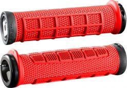 ODI Elite Pro Lock-On Grips - Red