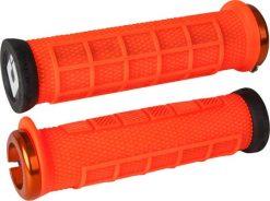 ODI Elite Pro Lock-On Grips - Orange
