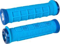 ODI Elite Pro Lock-On Grips - Blue