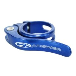 Answer Quick Release Alloy Seat Clamp - Blue