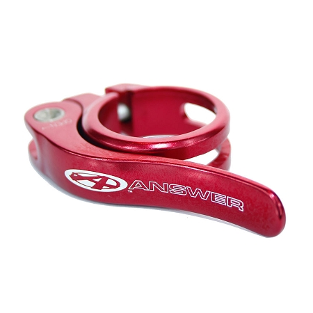 Answer Quick Release Alloy Seat Clamp - Red