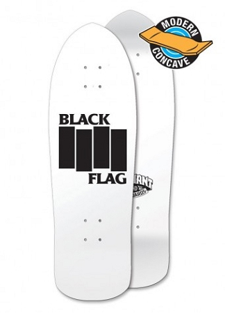 Elephant Brand Skateboards - Black Flag Deck