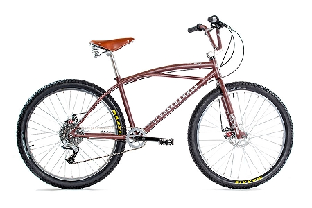 "2018 Volume Sledgehammer 26"" Complete Bike"