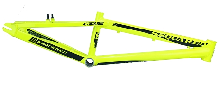 SSquared CEO v2 Frame - Fluro Yellow