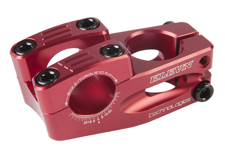 Elevn CNC'D Race Stem - Red