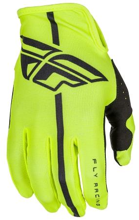 Fly Racing Lite Gloves - Hi-Vis / Black