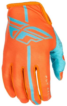 Fly Racing Lite Gloves - Orange / Blue