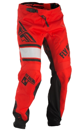 Fly Racing Kinetic BMX Pants - Red / Black