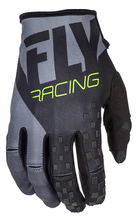 Fly Racing Kinetic Gloves - Black / Grey