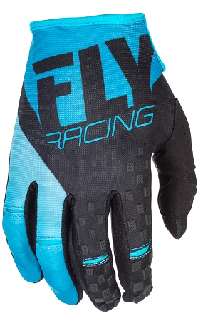 Fly Racing Kinetic Gloves - Blue / Black