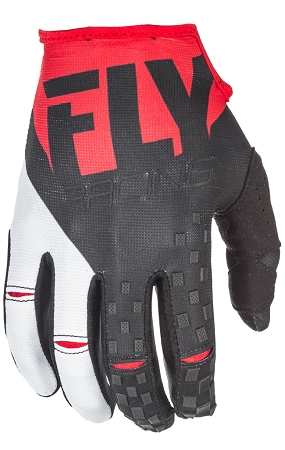 Fly Racing Kinetic Gloves - Red / Black