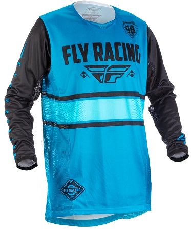 Fly Racing Kinetic Era Jersey - Blue / Black
