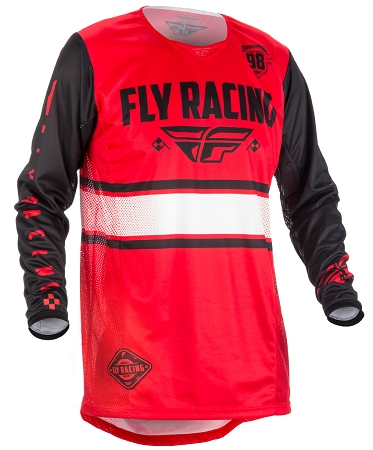 Fly Racing Kinetic Era Jersey - Red / Black