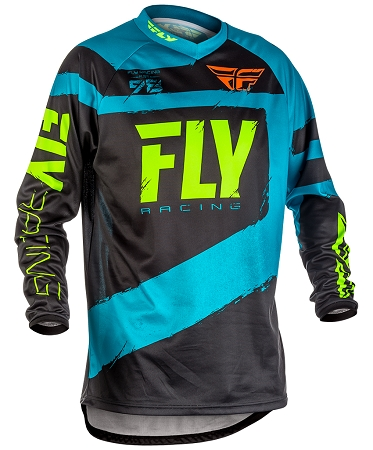 Fly Racing F-16 Jersey - Blue / Hi-Viz