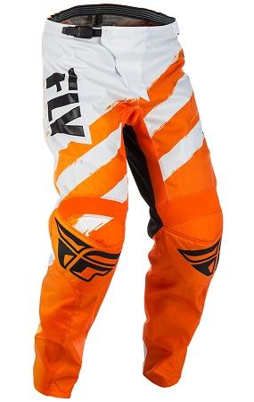 Fly Racing F-16 Pants - Orange / White