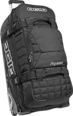 OGIO Rig 9800 Rolling Luggage Bag - Black