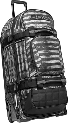 OGIO Rig 9800 Rolling Luggage Bag - Black Ops